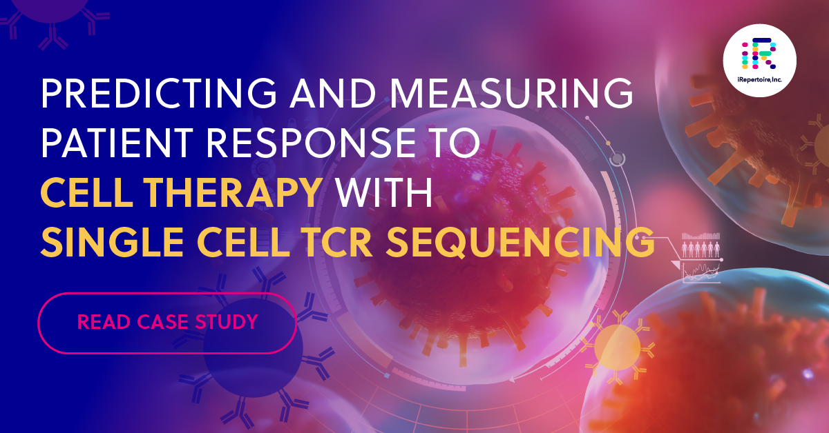 Predicting and measuring patient response to cell therapy with single cell TCR sequencing. Read case study.