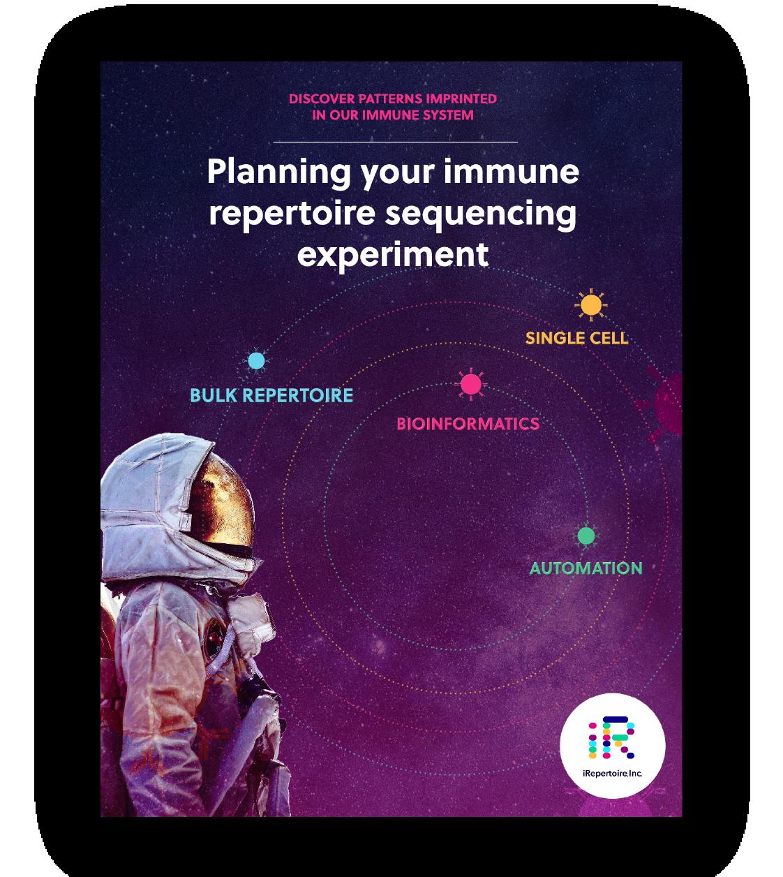 iRepertoire eBook 3: Planning your immune repertoire sequencing experiment